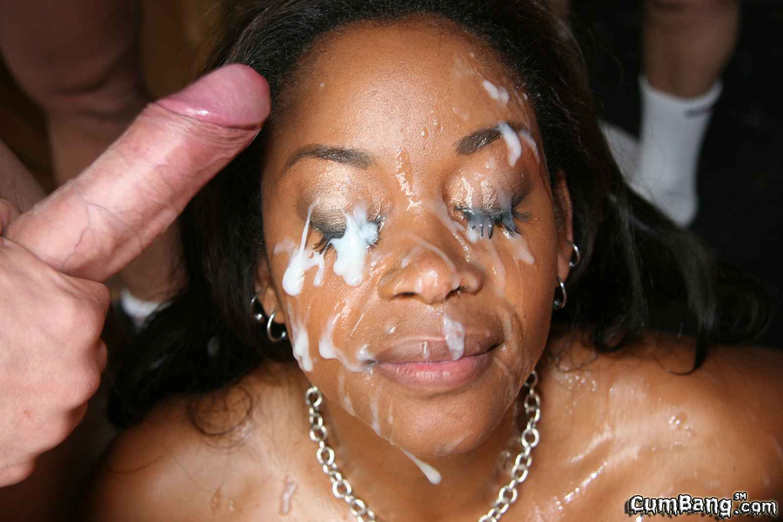 Girl gets a huge facial